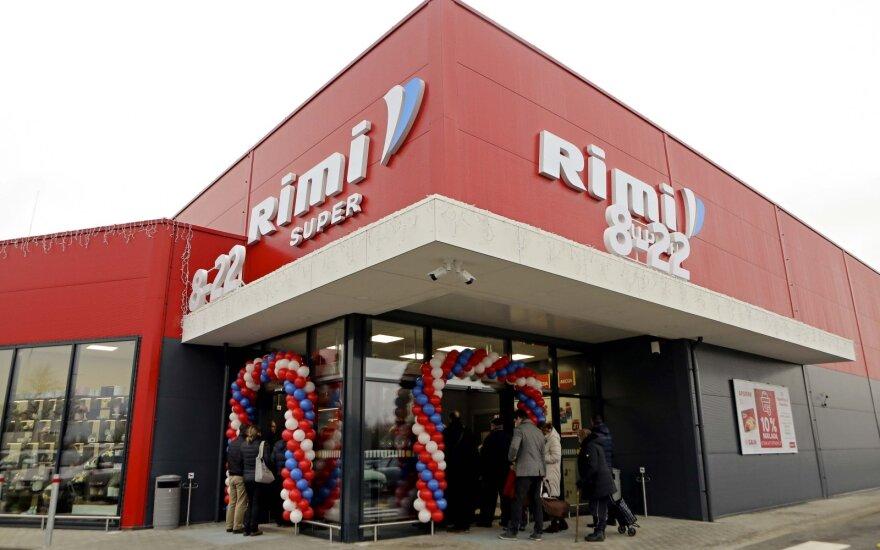 Выручка сети супермаркетов Rimi Lietuva в прошлом году выросла на 3,8%