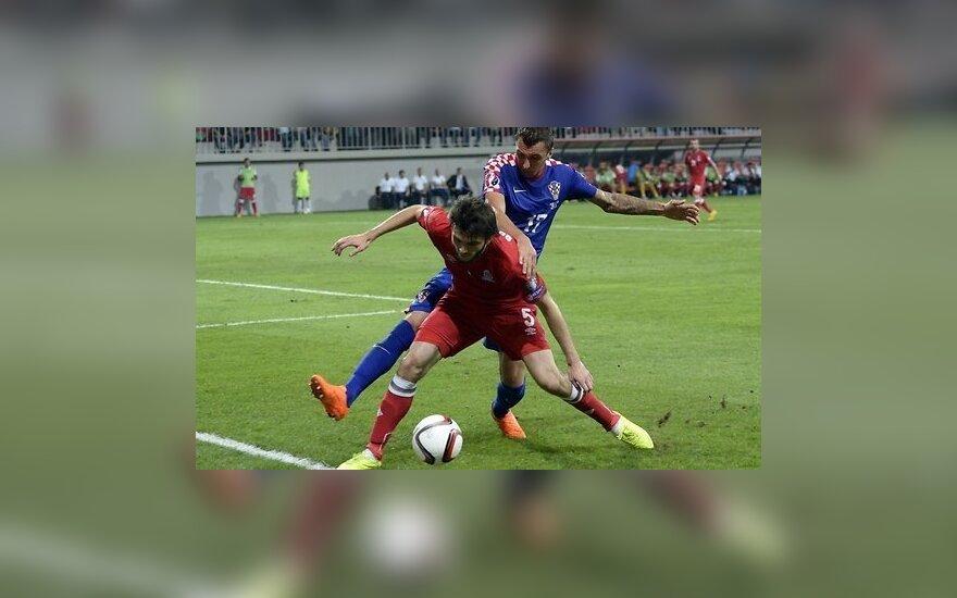 ЕВРО-2016: Азербайджан притормозил хорватов