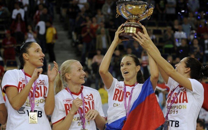 Rusijos krepšininkės – Europos čempionės