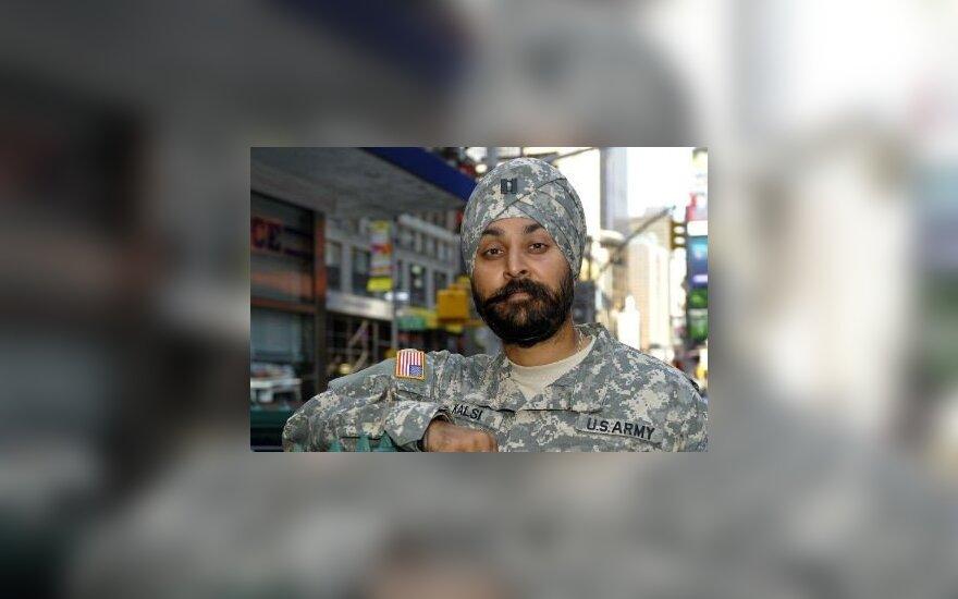 Американским военным разрешат тюрбаны и бороды