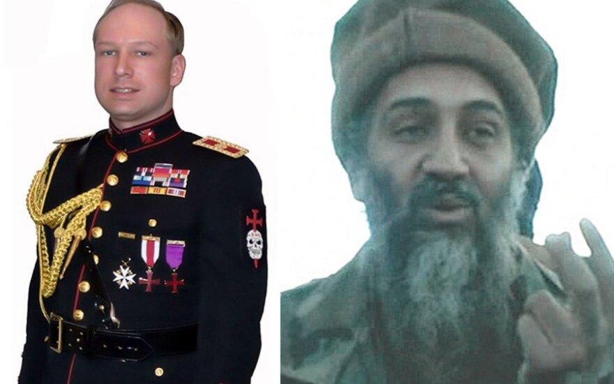 A Breivikas ir O. bin Ladenas