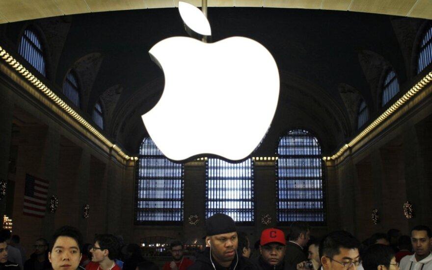 """""""Apple"""" parduotuvės atidarymas Niujorke"""