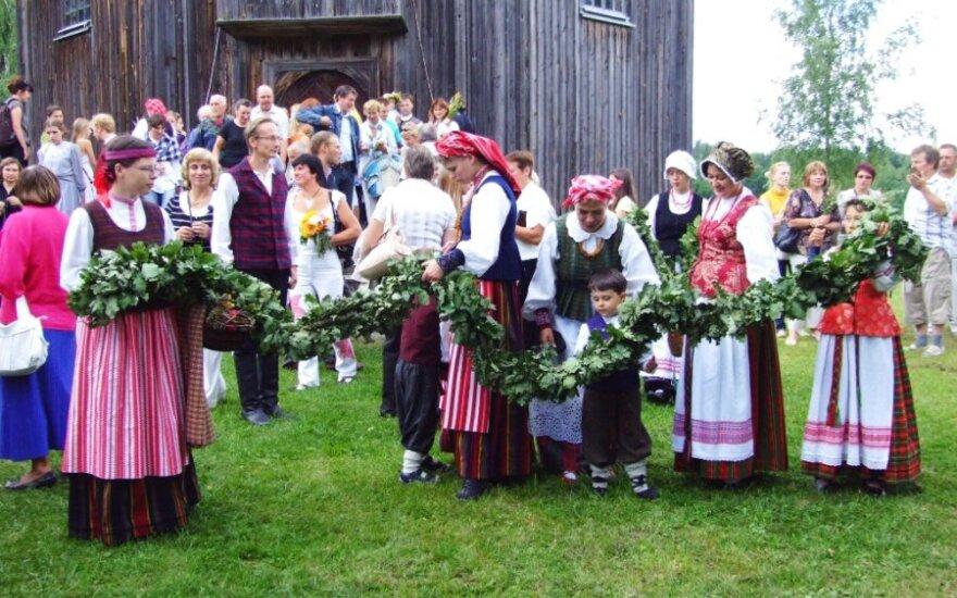 Литва отмечает Жолинес