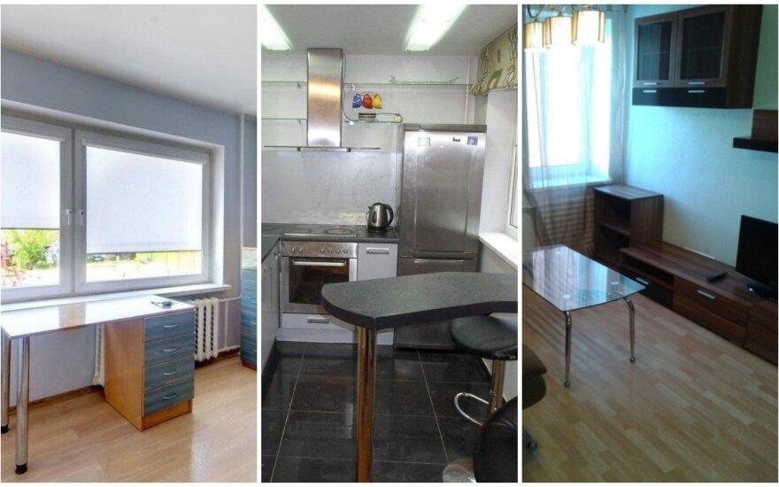 Аренда квартиры за 250 евро - что предлагают три города Литвы