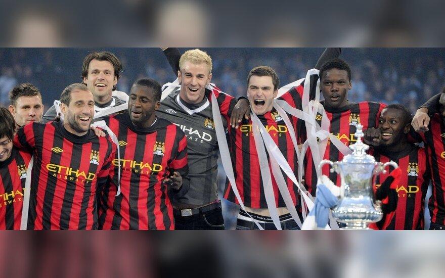 """""""Manchester City"""" šventė sezono pabaigą"""
