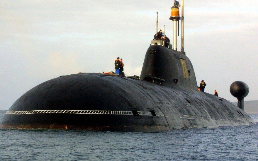 Российские подлодки провели учебную дуэль на торпедах