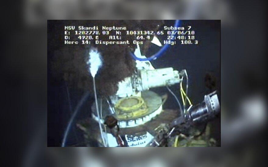 BP зацементировала скважину в Мексиканском заливе