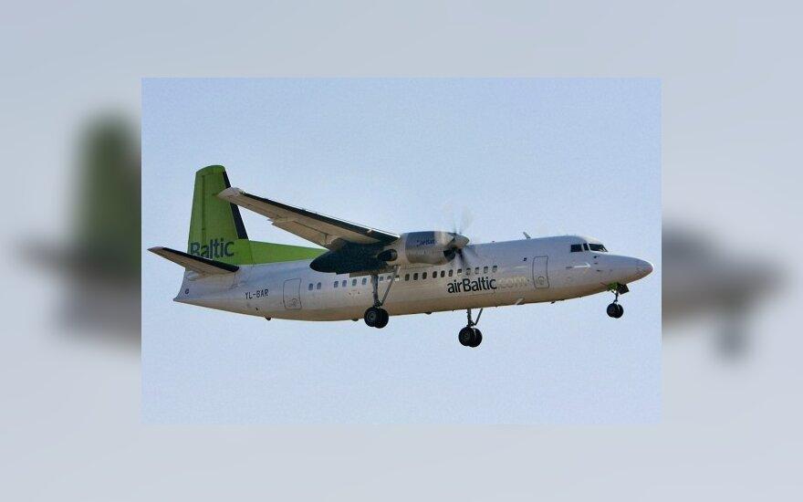 airBaltic будет чаще летать из Паланги