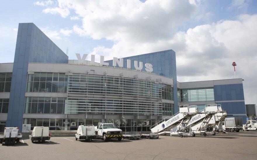 Число пассажиров в аэропортах Литвы увеличилось на 11%