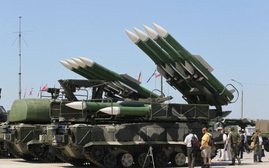 BUK rockets