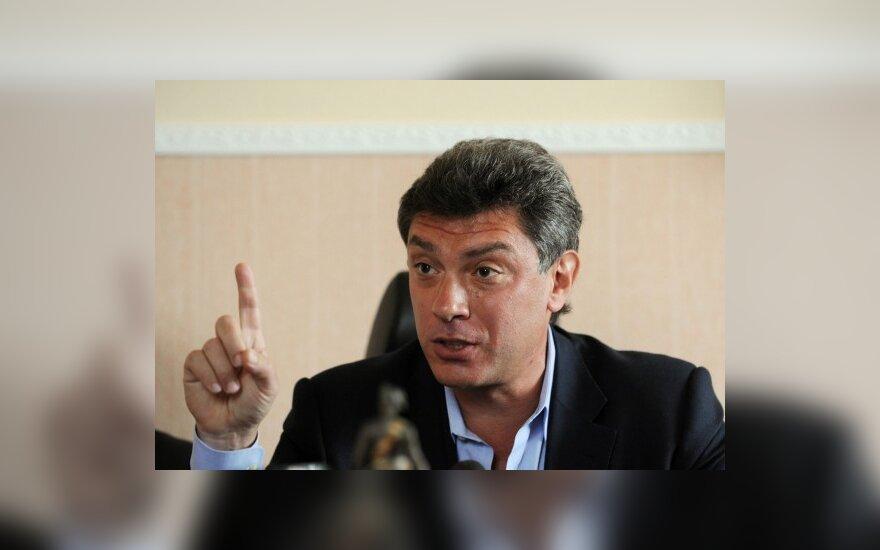 Борис Немцов подвел итоги деятельности Лужкова