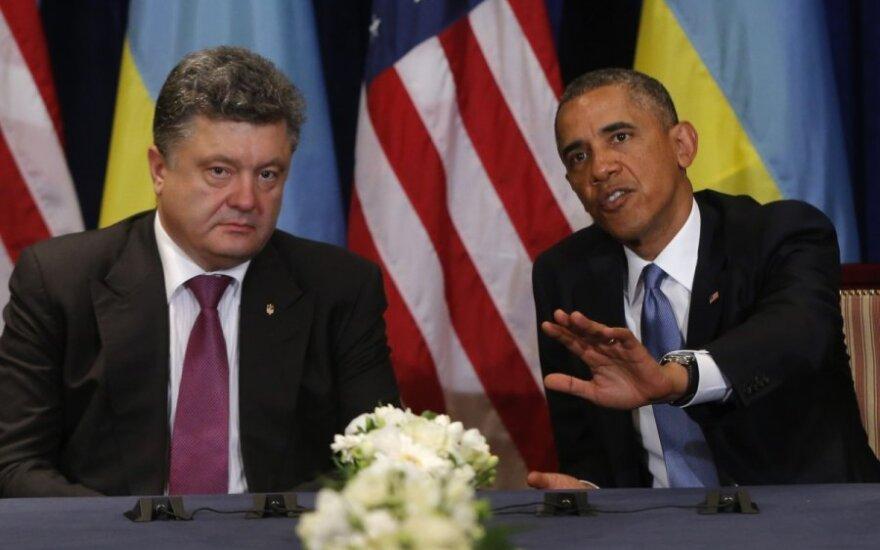 Обама обещал Порошенко военную помощь на $23 млн.