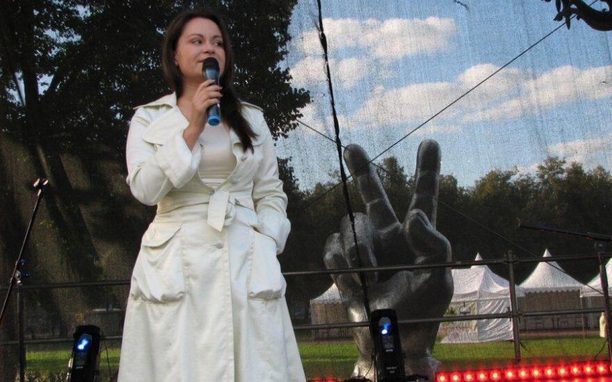 Ewelina Saszenko na Dnia Stolicy 2014