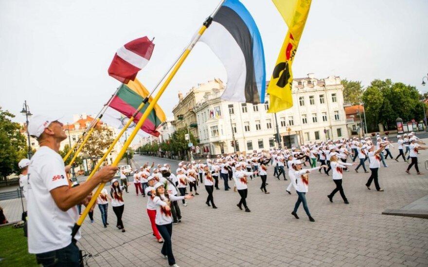 В Литве отмечают 25-летие Балтийского пути
