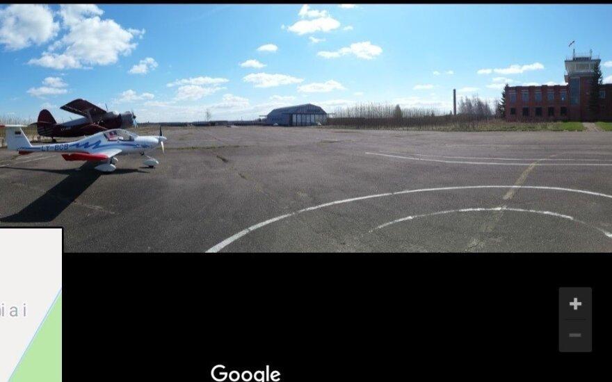 В Йонишкском районе на аэродроме упал вертолет, двое мужчин погибли