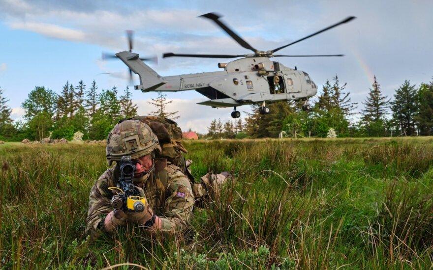 На побережье Литвы – впечатляющие десантные операции союзников: это не рядовые учения