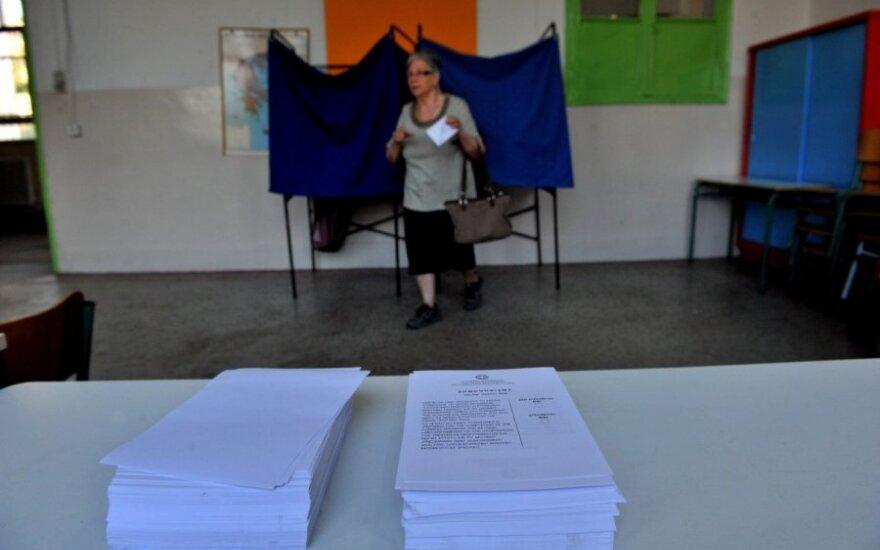 Graikai balsuoja referendume