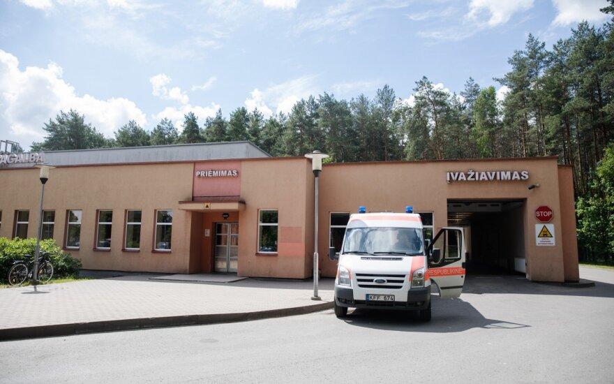 В Вильнюсскую больницу с симптомами переохлаждения доставлен мужчина