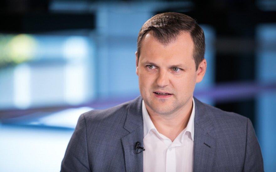 Баллотирующийся в мэры Вильнюса лидер соцдемов Палуцкас: пока мы все равны