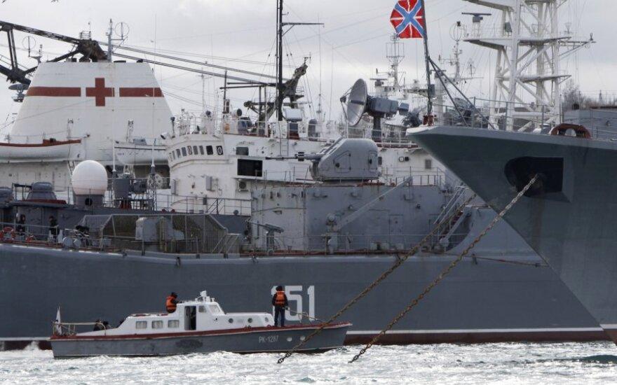 Rusijos Juodosios jūros flotilės laivas