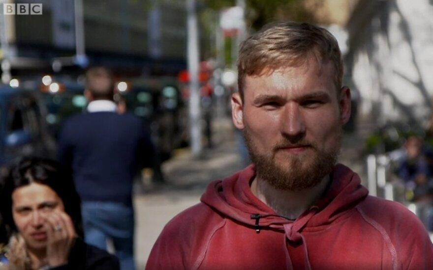 В центре внимания BBC – литовец, получивший от Великобритании большую компенсацию