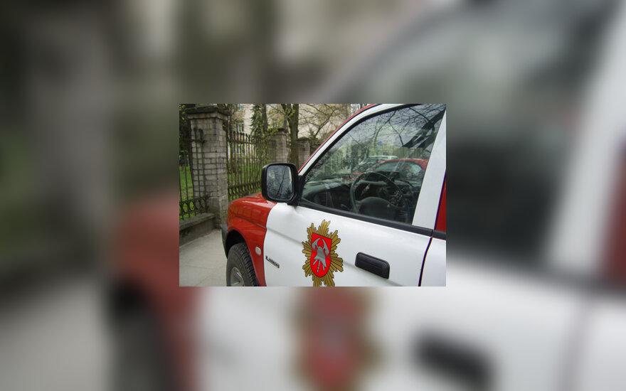 Ugniagesių gelbėtojų automobilis