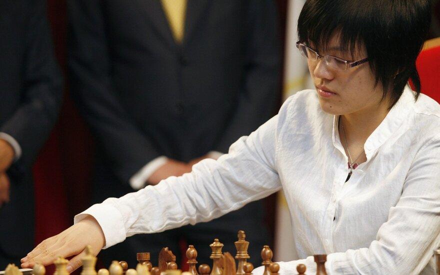 Китаянка вернула шахматную корону
