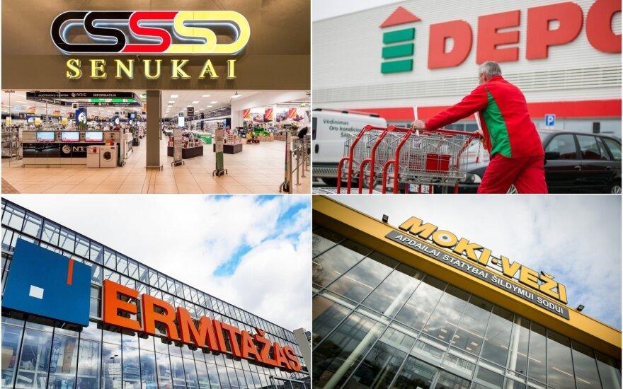 Изменения на ремонтно-строительном рынке: в Вильнюсе строят огромные магазины