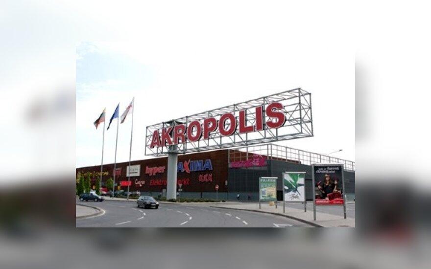 Оборот Akropolis превысил 2 млрд. литов