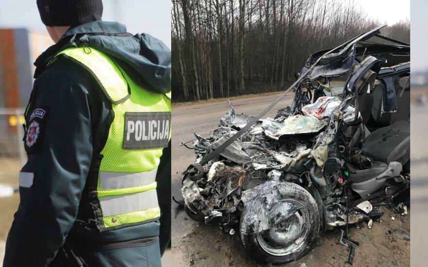 В Вильнюсском районе в ДТП погибла женщина