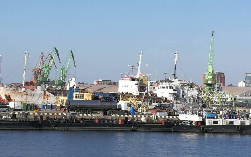 Судно с нефтью для Беларуси вошло в Клайпедский порт