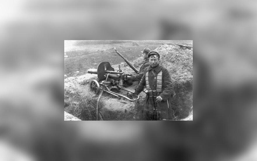 Армия Литвы празднует столетие