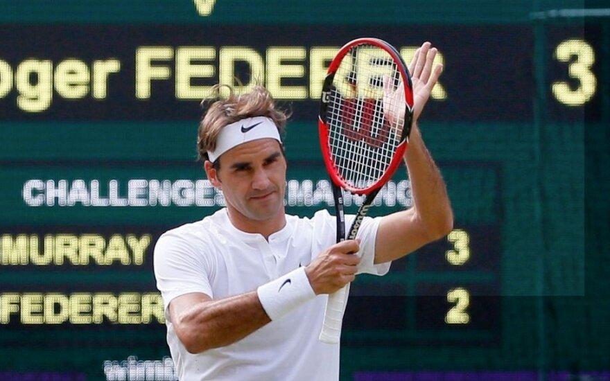 Федерер в десятый раз в финале Уимблдона и сыграет там с Джоковичем