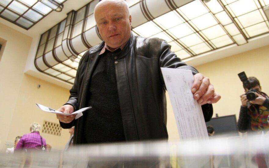 Рекордная активность: досрочно на выборах президента Литвы проголосовали 75 000 человек