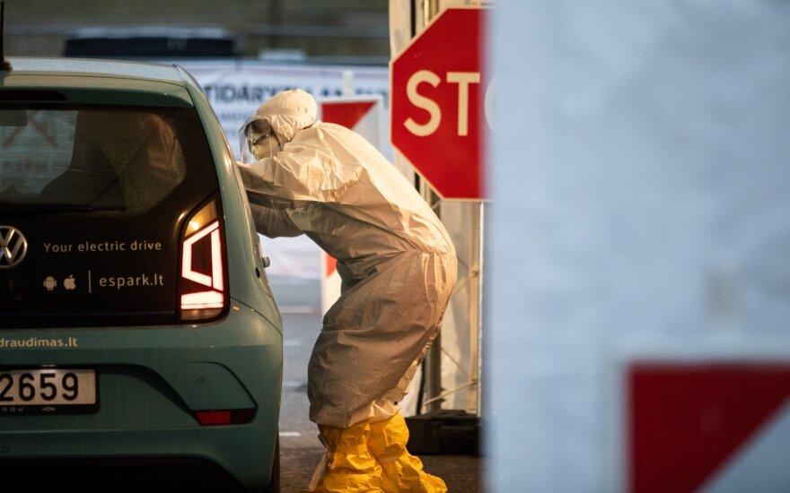 Центр здравоохранения представил новую статистику заболевания коронавирусом в Литве