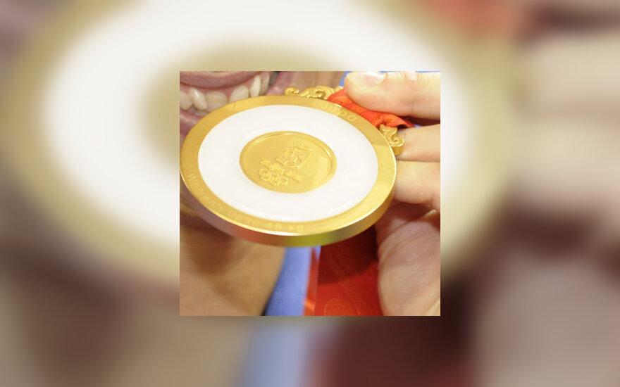 Pekino žaidynių aukso medalis