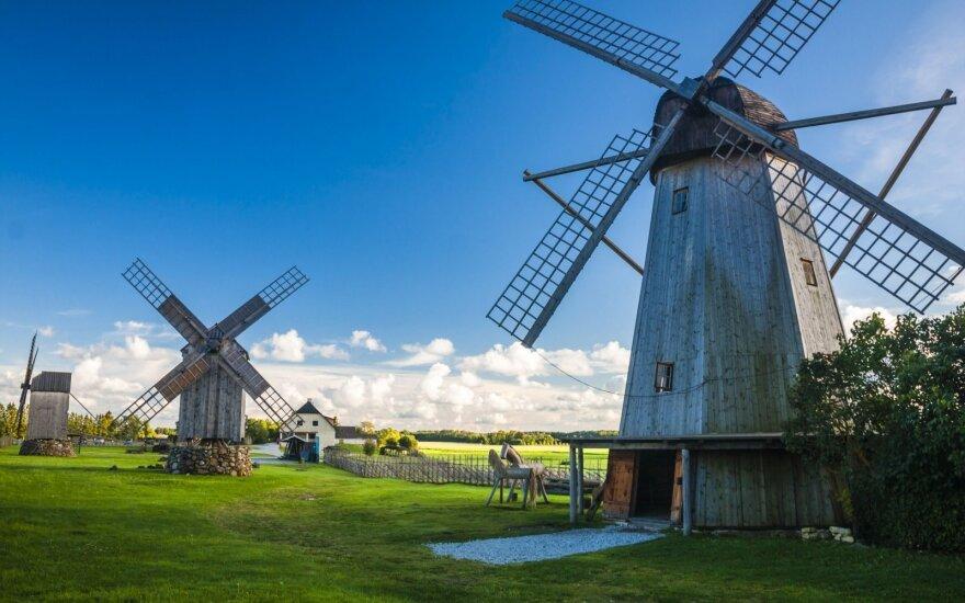 Vėjo malūnai Estijoje