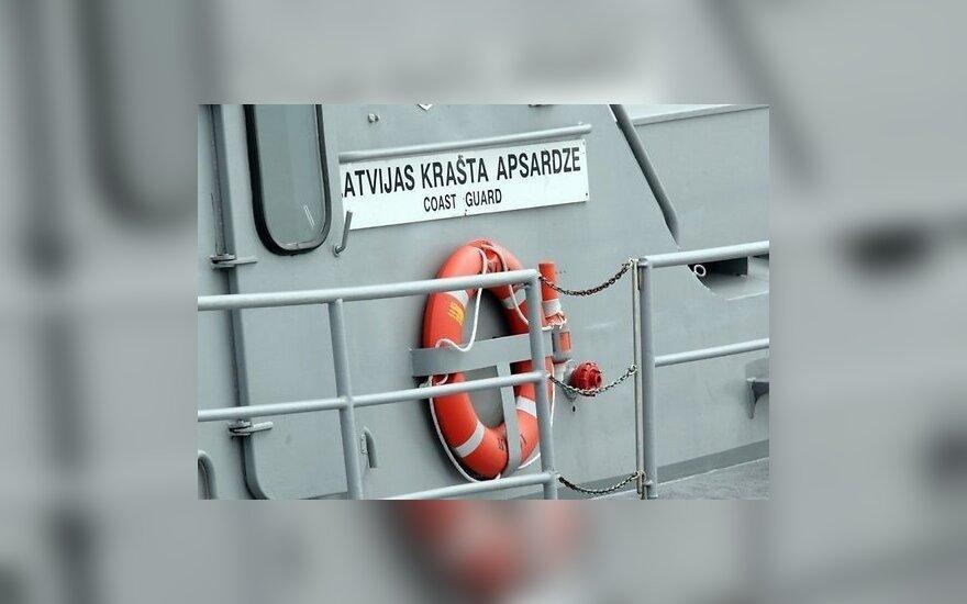 Береговая охрана Латвии спасала севшую на мель литовскую яхту