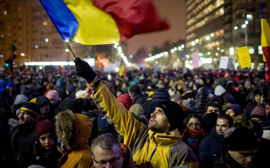 Protestai Rumunijoje
