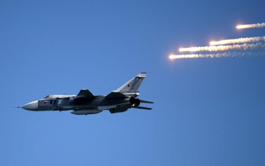 """Rusijos naikintuvas """"Su-24"""""""