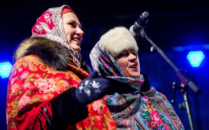 На Кафедральной площади отметили православное Рождество