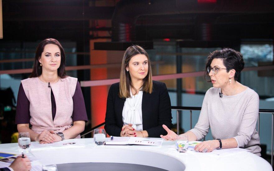Inga Ruginienė,  Laura Galdikienė, Rita Karavaitienė