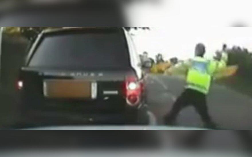 Angielski policjant