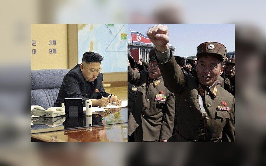 Korea Północna wypowiedziała wojnę Korei Południowej