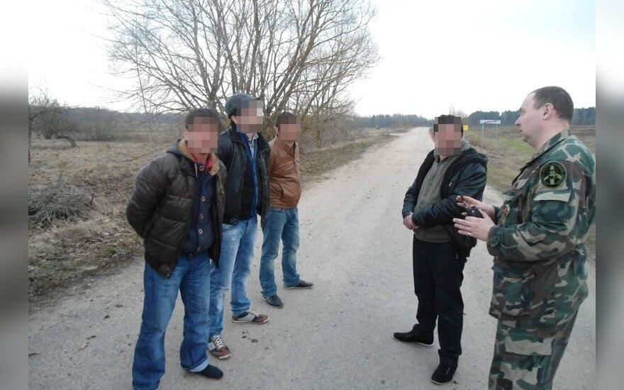 Litewscy pogranicznicy zatrzymali 7 Gruzinów