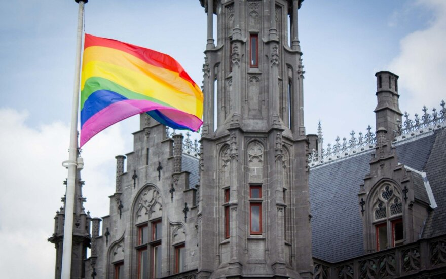Глава МВД Беларуси об ЛГБТ-флаге: это проверка общества на зрелость