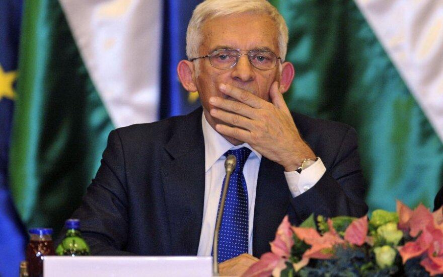 Jerzy Buzek w szpitalu