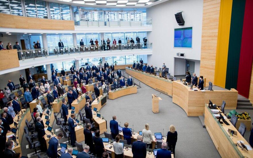 Сейм Литвы призывает не допускать попытки России определить будущее Беларуси