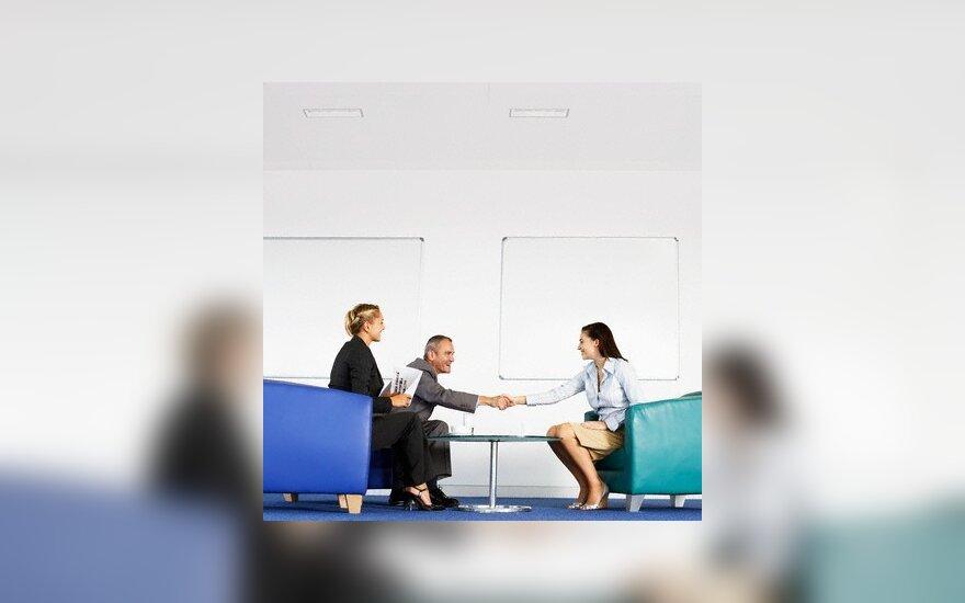 Pokalbis dėl darbo, bedarbis, nedarbas, darbuotojas, interviu