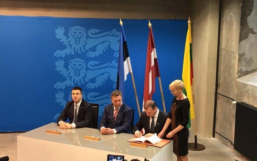 Премьеры стран Балтии подписали соглашение по Rail Baltica
